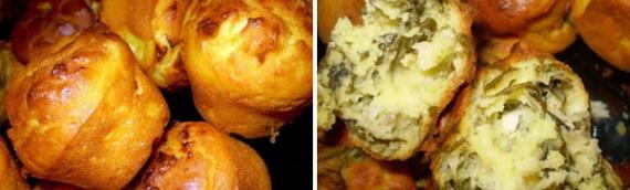Najjednostavnije meke kukuruzne projice sa feta sirom